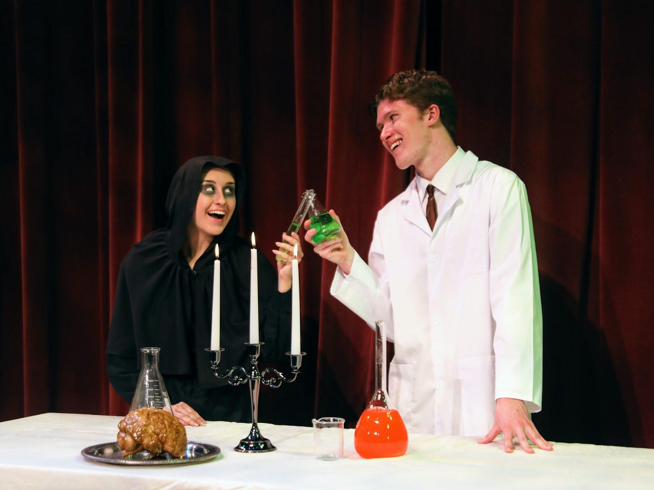 Igor and Dr. Frankenstein